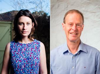 Sarah Hamilton and Leigh Swinburne