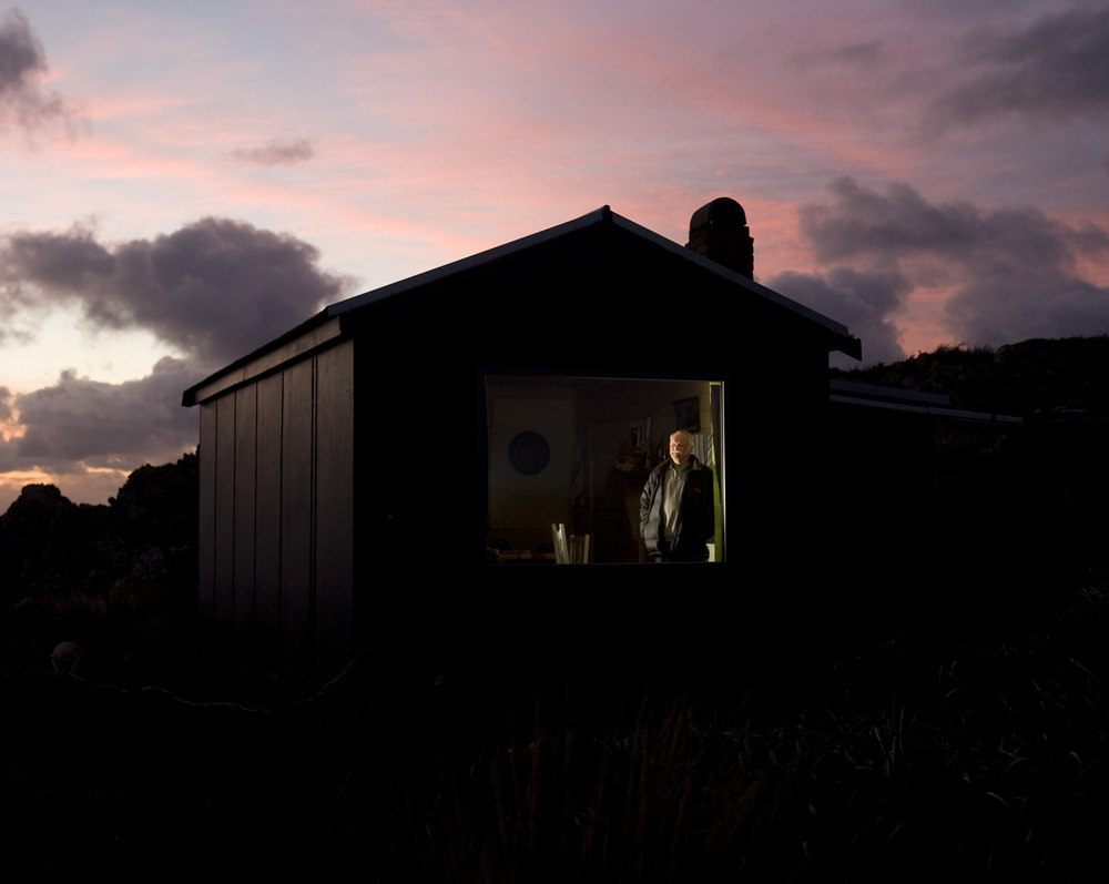 Pete Hay at Joe King's Shack (image by Matthew Newton)