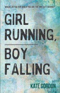 Girl Running Boy Falling cover