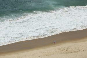 Child looking at ocean Image copyright Daniela Brozek